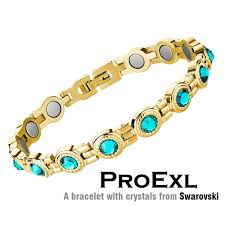 bangle bracelet swarovski images Swarovski crystal womens magnetic therapy bracelet jpg