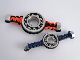 how to make a simple paracord hex nut hand spinner fidget toy no