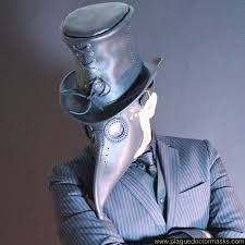 leather mask plague doctor leather mask for sale costume worldwide shipping