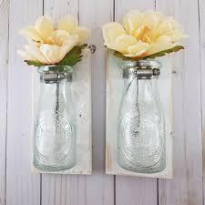 Wall Mounted Glass Flower Vases Shop Hanging Wall Vase On Wanelo