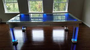 convertible pool dining table convertible pool dining table neon glass dining pool table acnc co