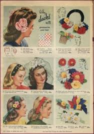 1940s hair accessories 1940s fashion 1940s hair accessories and fashion