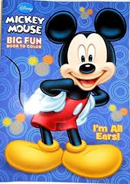 amazon disney mickey mouse coloring book