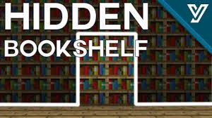 tutorial tiny hidden bookshelf door for minecraft 1 11 1 12