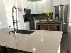 Kitchen Countertops Quartz by Stellar Snow Quartz Countertop Home Depot Bathroom