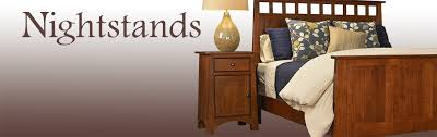 Cherry Wood Nightstands Solid Wood Nightstands Cherry Wood Nightstand Handcrafted