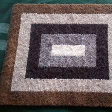 nested rectangle locker hooked wool rug u2013 dyers wool