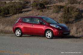nissan leaf sv vs sl review a week in a 2012 nissan leaf the truth about cars