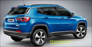 jeep compass length 2017 2018 jeep compass compact crossover with an name