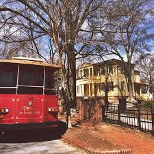 ride the haunted raleigh trolley raleigh offline