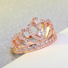 crown diamond rings images April birthstone heart crown diamond ring fantasy jewelry online jpg
