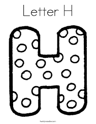 coloring pages with letter h letter h coloring page twisty noodle