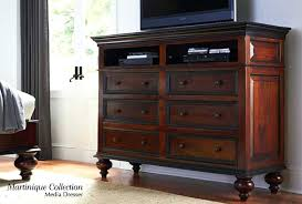 Bedroom Tv Dresser Tv Dresser Chest Bedroom Bed Dresser Mirror Black Media