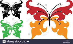 tattoo butterfly design vector art stock vector art u0026 illustration