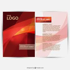 brochure design templates for education brochure design vector vector free