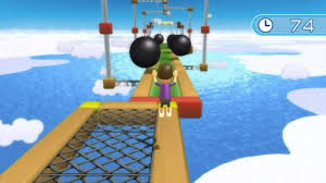 wii fit plus obstacle course youtube