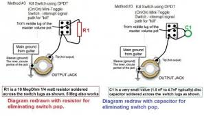 guitar kill switch wiring diagram kill switch question page squier