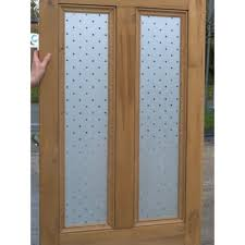 4 panel doors interior ed009 victorian 4 panel etched glass door with star glass design
