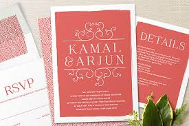 contemporary indian wedding invitations minted exquisite wedding invitations from the wedding design