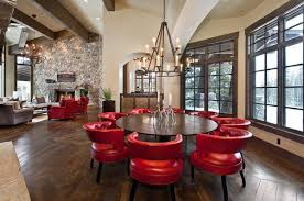 cheap red dining table and chairs be confident with color how to integrate red chairs in the dining room