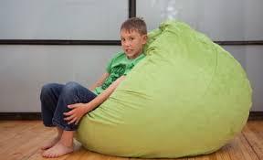 jaxx cocoon jr foam bean bag chair