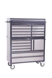 Rolling Tool Cabinet Sale New 41 Black U0026 Stainless Rolling Tool Chest Box Tool Htc4114bs