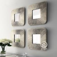online get cheap fretwork mirror aliexpress com alibaba group mirrored wall decor fretwork square wall mirror framed wall art set of four square wall decorative mirrors