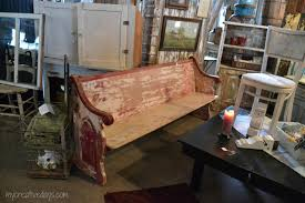Antique Wooden Bench For Sale by Elegant Barn Spring Sale Lowden Iowa My Creative Days