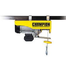 champion 440 880 120 volt hoist 18890 the home depot