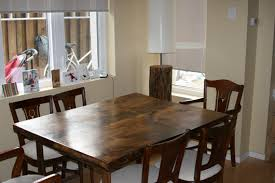 Homemade Dining Room Table Diy Reclaimed Dining Room Table Top Little Experience Needed