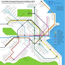 Map Of Dublin Ireland Great Dublin Transport Networks U2013 Dublin Inquirer