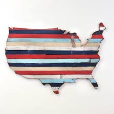 usa pallet map wooden america pallet wall united