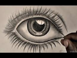 how to draw an eye for beginners youtube