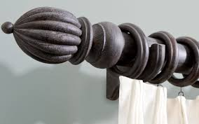Kirsch Curtain Rod Choosing A Drapery Rod For Faux Finished Or Custom Stained Treatments