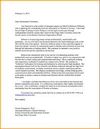 6 scholarship recommendation letter sample of invoice