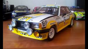 opel ascona 400 opel ascona 400 rally 1 18 sun star youtube