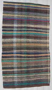 Rag Rug Runner Vintage Rag Rugs