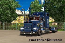 kenworth custom parts kenworth w900l custom fuel tank 1 22 mod euro truck simulator 2 mods