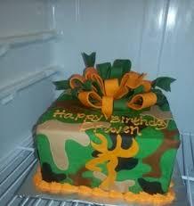 browning cake topper handmade edible fondant deer camo browning cake topper set