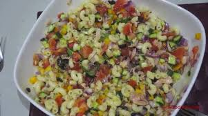 Pasta Salad Mayo by No Mayo Tuna Pasta Salad Vs Recipe Tutorial Foodsvs Com