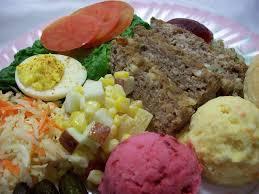 Cold Dinner Stuffed At The Gill U0027s Newfoundland Beet And Mustard Potato Salads