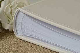 large photo album large plain blank ivory photograph album traditional book bound