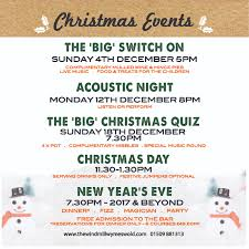 the windmill inn christmas events the windmill inn