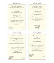 wedding announcement wording exles evening invitation wording exles