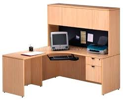 staples office desk with hutch office desks with hutch harbor view computer desk w hutch office
