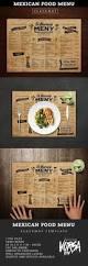 simple restaurant menu u2014 photoshop psd bifold poster u2022 download
