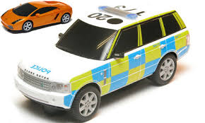 remote control police car with lights and siren scalextric range rover police car news slotforum