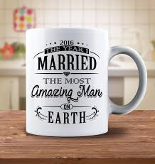 2016 the year i married the most amazing man on earth mug goods
