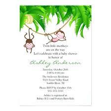 monkey baby shower invitations plus like this item monkey