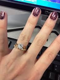 yellow gold wedding ring sets yellow wedding engagement rings i am wedding